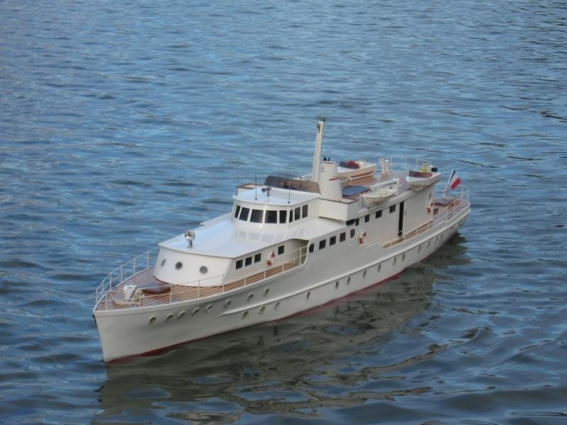 Yacht de luxe de haute mer