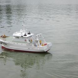 LA CURIEUSE - navire océanographique