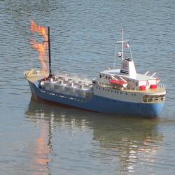 Incendie à bord