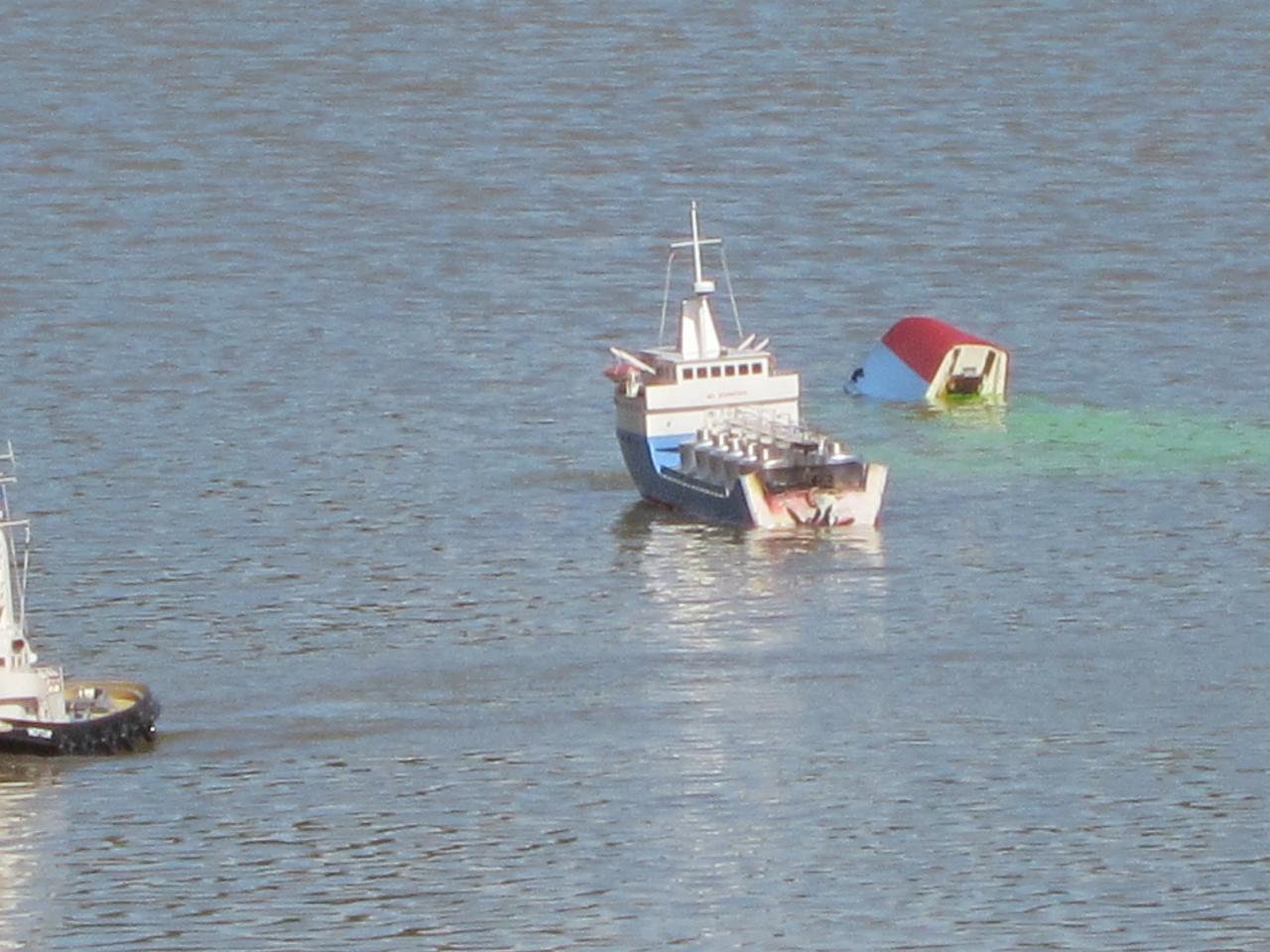 """Spectacle naval """"Alerte en mer"""""""