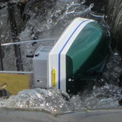 Tsunami à l' étang de Sault