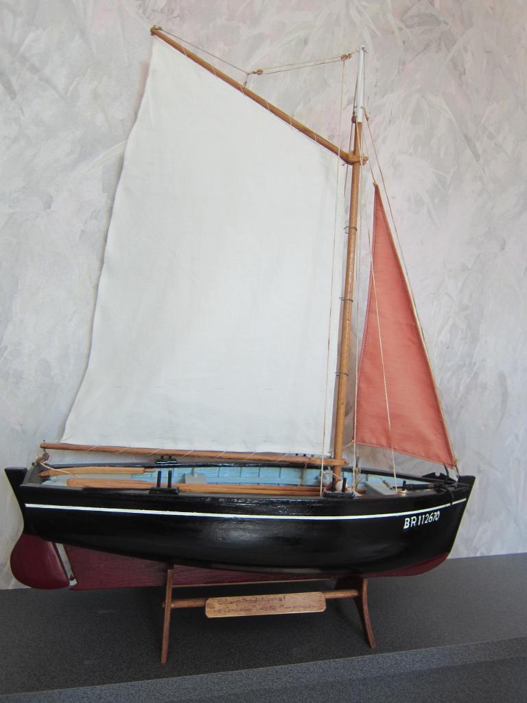 Le Corsaire - sloup de Plougerneau (statique)